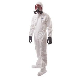 Portwest Biztex Microporous ST41 Coverall Type 5/6 Includes Boot Cover