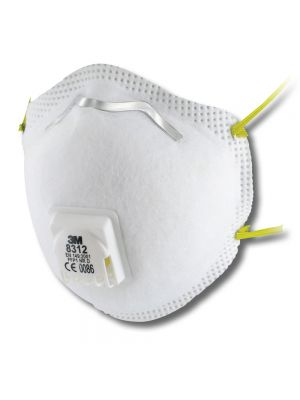 3M 8312 FFP1 Valved Dust/Mist Respirator - 10 Box