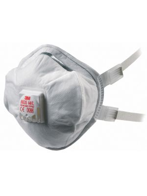 3M 8835 FFP3 Valved Soft Seal Respirator