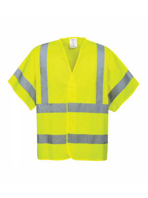 Hi-Vis Short Sleeved Vest