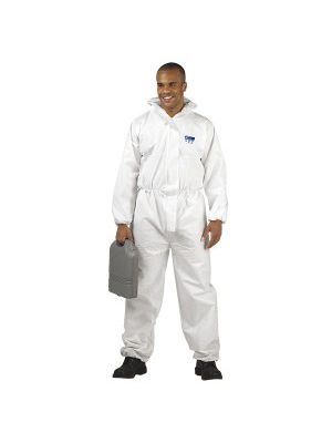 Portwest BizTex SMS ST30 Coverall Cat 3 Type 5/6 White