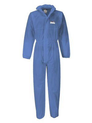 Portwest BizTex SMS ST30 Coverall Cat 3 Type 5/6 Blue