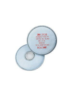 3m 2138 P3R Filters with Organic & Acid Gas Protection