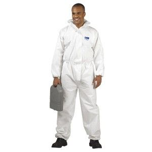 Portwest BizTex SMS ST30 White Coverall